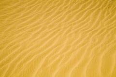 De rimpelingen van het zand stock fotografie