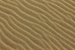 De Rimpelingen van het zand Royalty-vrije Stock Afbeeldingen