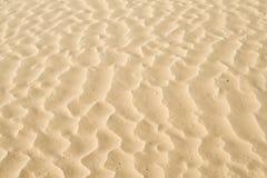 De rimpelingentextuur van het zand Stock Afbeeldingen