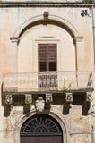 De Rinaldis Palace. Lecce. Puglia. Italy. Stock Images