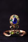De ring van Antic Royalty-vrije Stock Afbeeldingen