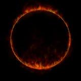 De ring van de brand Royalty-vrije Stock Afbeeldingen