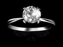 De Ring van de diamant Royalty-vrije Stock Afbeelding