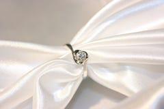 De ring van de diamant Royalty-vrije Stock Afbeeldingen