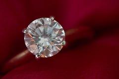 De Ring van de diamant Stock Afbeeldingen