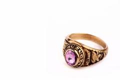 De ring van de graduatie stock afbeelding