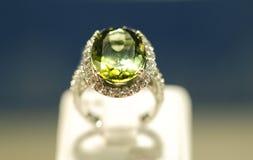 De ring van de luxe royalty-vrije stock afbeelding