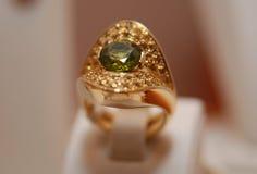De ring van de luxe stock afbeelding