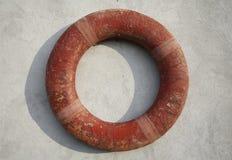 De ring van de reddingsboei Stock Fotografie