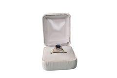 De Ring van de saffier Royalty-vrije Stock Fotografie