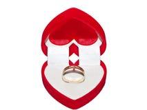 De ring van de valentijnskaart Royalty-vrije Stock Foto