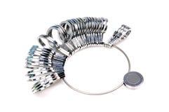 De ring van de vinger sizer Royalty-vrije Stock Afbeelding