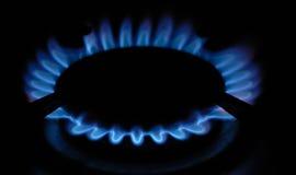 De ring van het gas stock afbeelding