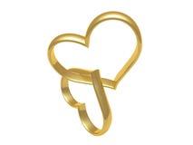 De Ring van het hart Stock Foto's