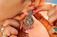 De ring van het oor stock afbeelding