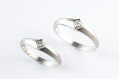 De ring van het paar Royalty-vrije Stock Afbeeldingen