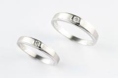 De Ring van het paar Royalty-vrije Stock Foto's