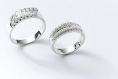 De Ring van het paar Stock Afbeelding