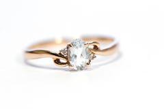 De ring van juwelen Stock Fotografie