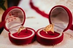 De ringen stock foto