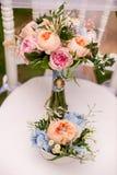 De ringen van de zilveren bruiloft Royalty-vrije Stock Foto