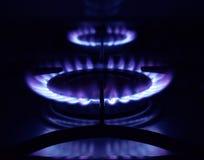 De ringen van het gas Stock Afbeelding