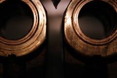 De ringen van het messing Royalty-vrije Stock Afbeeldingen