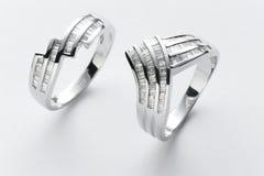De ringen van het paar Royalty-vrije Stock Fotografie