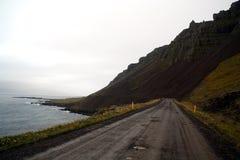 de ringsweg in IJsland royalty-vrije stock fotografie