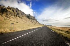 De ringsweg van IJsland Stock Afbeeldingen