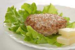 De rissole van het vlees Royalty-vrije Stock Foto's