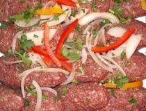 De rissoles van het vlees stock afbeelding