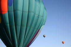 De Rit van de Ballon van de hete Lucht Stock Afbeelding