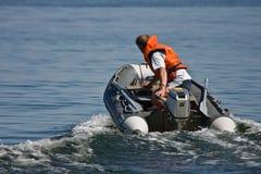 De rit van de boot stock foto's