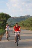 De rit van de fiets Royalty-vrije Stock Fotografie