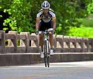 De Rit van de fiets over Georgië Stock Afbeeldingen