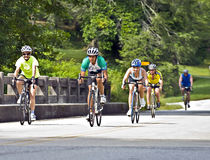 De Rit van de fiets over Georgië Royalty-vrije Stock Afbeelding