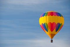 De rit van de hete luchtballon Royalty-vrije Stock Foto's