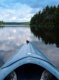De Rit van de kano royalty-vrije stock fotografie