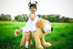De rit van de leeuw Royalty-vrije Stock Foto