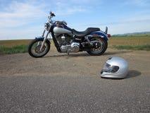 De rit van de motorfiets Royalty-vrije Stock Foto's