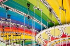 De rit van de regenboog royalty-vrije stock afbeeldingen