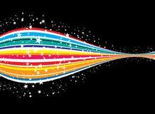 De rit van de regenboog Stock Afbeelding