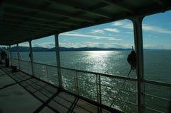 De rit van de veerboot Royalty-vrije Stock Foto's