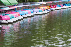 De rit van de vermaakboot Royalty-vrije Stock Foto's