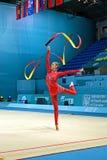 De ritmische Kampioenschappen van de Gymnastiekwereld, Kiev, de Oekraïne, Royalty-vrije Stock Afbeelding