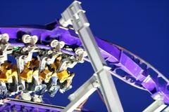 De ritonduidelijk beeld van de achtbaan royalty-vrije stock foto