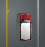De ritten van de auto Stock Foto's