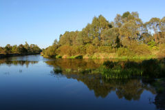 De rivier Royalty-vrije Stock Foto