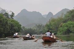 De rivier royalty-vrije stock afbeeldingen